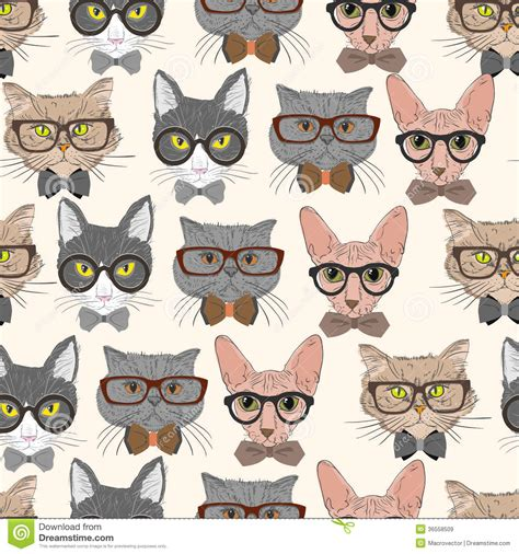 Sepre Motiif Mr Cat seamless cats pattern background royalty free stock images image 36558509