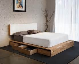 Diy Platform Bed With Storage Platform Bed With Storage On One Side Ideas Advice For Your Home Decoration