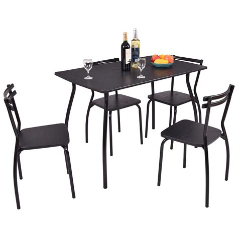 5 dining set table 5 dining set table and 4 chairs home kitchen room