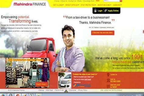 mahindra fainance mahindra finance results mirror lower incomes crunch