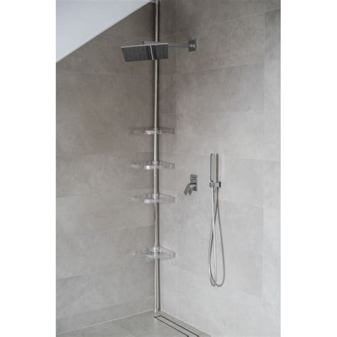 chrome bathroom storage chrome shower bathroom storage corner shelf caddy up to