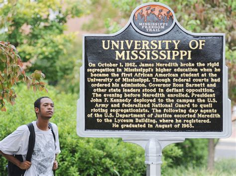 Mississippi State Mba Concentrations by Of Mississippi Commemorates Integration The