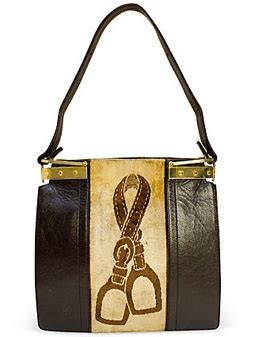 Vpod Leather And by Gucci Leather Velvet Tote Handbag Vintage Collection