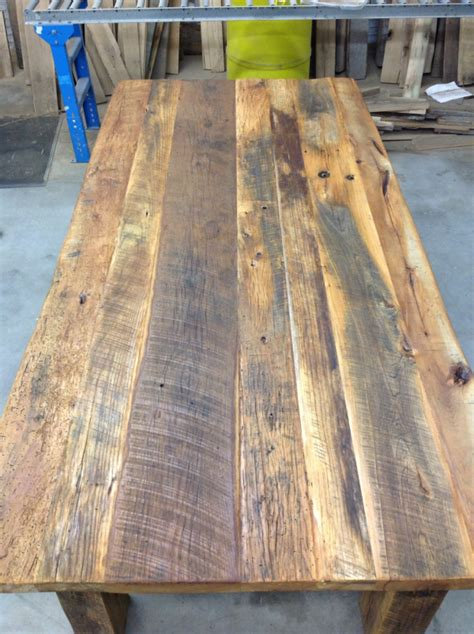 reclaimed wood table top diy how to build your own reclaimed wood table diy table kits