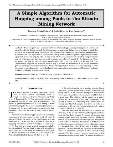 Bitcoin Mining Algorithm - Kriptonesia