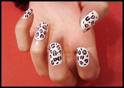 imagenes para pintar uñas paso a paso u 241 as de leopardo paso a paso bekamakeup
