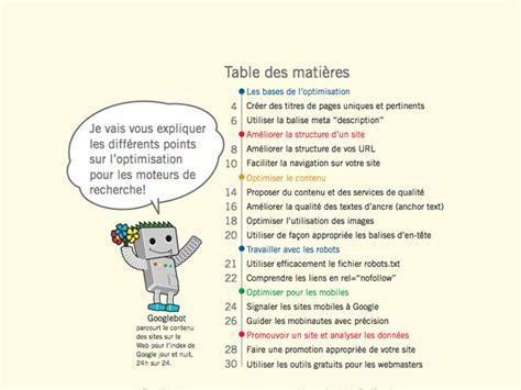 design guidelines en francais google le guide seo disponible en fran 231 ais