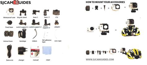 top 11 essential accessories for your sjcam sj4000 pevly