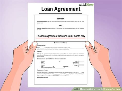 what is apr and how how to get a low apr on a car loan 11 steps with pictures