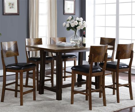 two tone dining room sets gillian two tone counter height dining room set d228 12