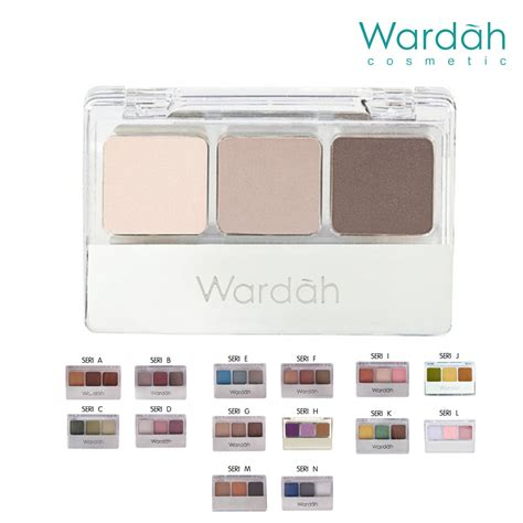 Eyeshadow Wardah Warna Putih wardah eyeshadow 14 pilihan warna elevenia