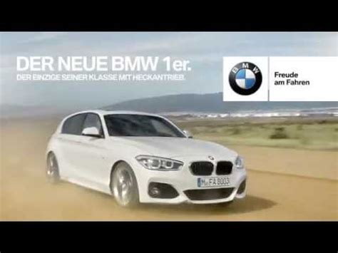 Bmw 3er Werbung by Bmw 1er Facelift 2015 Heckantrieb Werbung E1ns Mit Der