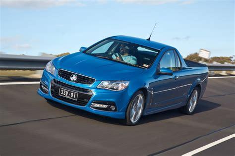 blue trailer vf holden vf ssv redline ute review practical motoring