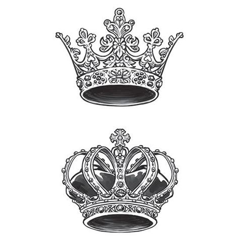 queen tattoo vorlagen image result for king and queen crowns vorlagen f 252 r