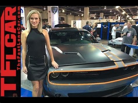 world's only all wheel drive dodge challenger gt awd @sema