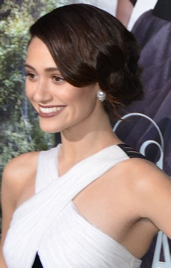 Emmy Trends Updos by Emmy Rossum S Hairstyles Photos Sophisticated