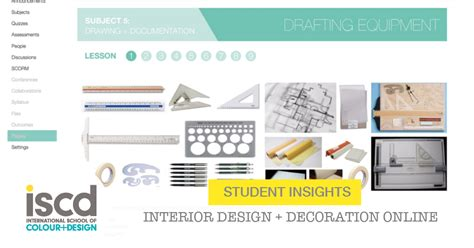 student insights diploma of interior design decoration