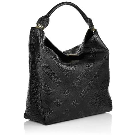 Burberry Debossed Hobo by 33 Burberry Handbags Burberry Check Embossed