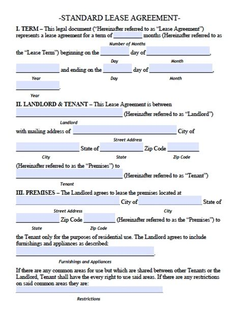 leaseback agreement template free rhode island standard residential lease agreement