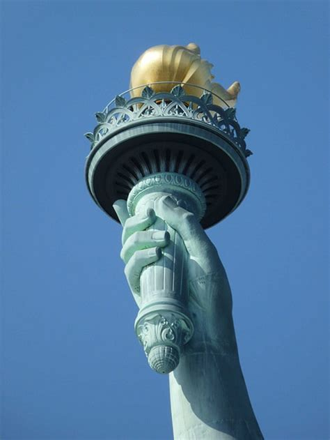 Statue Of Liberty Torch L by Statue Of Liberty Historical Facts And Pictures The