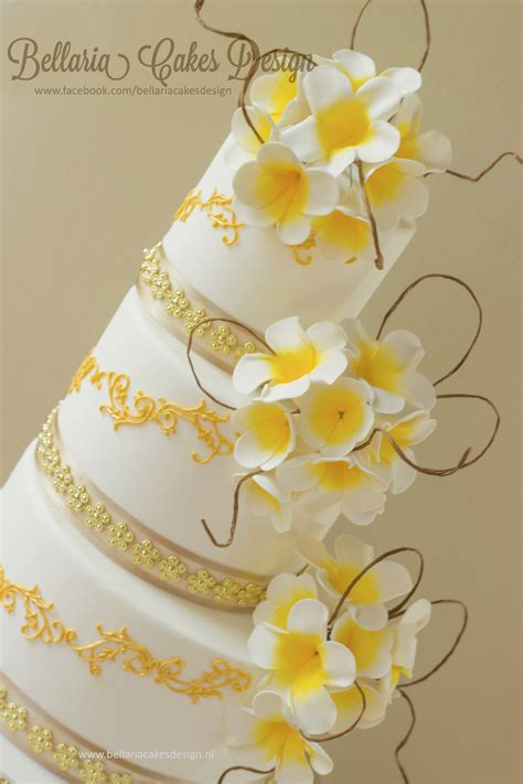 Wedding Cake Bali by Bali Themed Wedding Cake Cakecentral