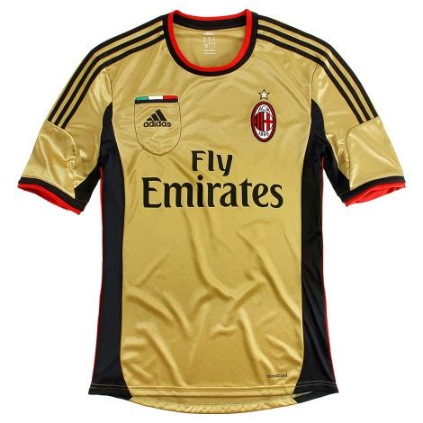 Jersey Bola Ac Miland Home Loong Ls Sleeve Official 17 18 Grade Ori image gallery milan jersey 2013 2014