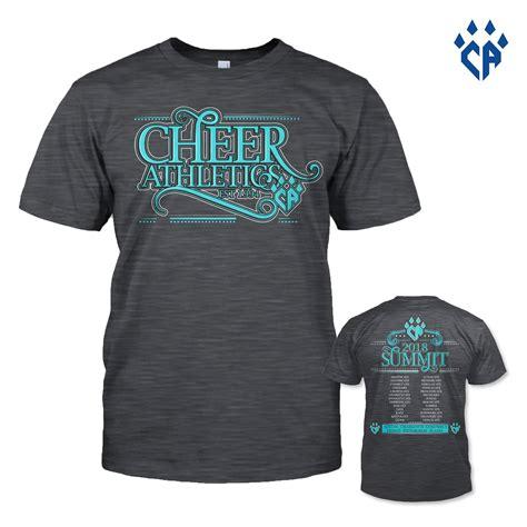 Tshirt Summit 2018 summit t shirt pre order cheer athletics proshop