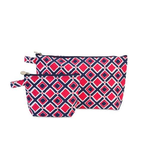 Set Pink Zipper times square navy pink zipper set