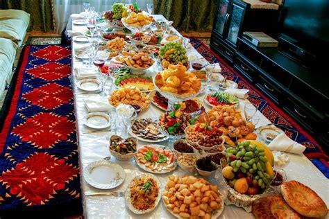 table of food central cuisine kalpak travel