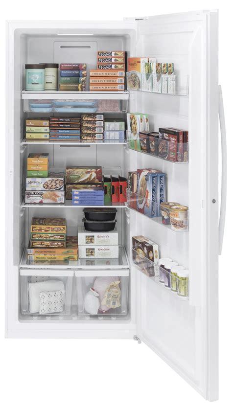 GE White Frost Free Upright Freezer   FUF21DLRWW
