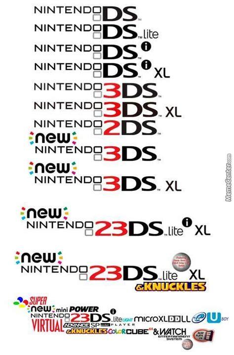 Ds Memes - nintendo ds logo evolution by gb badassa meme center