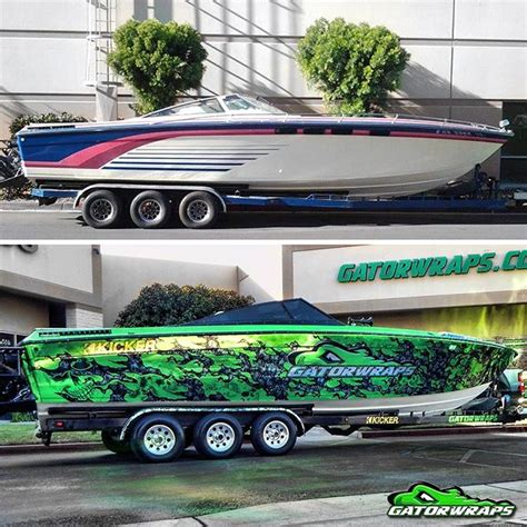 bass boat vs flats boat boat wraps boat graphics decals gatorwraps