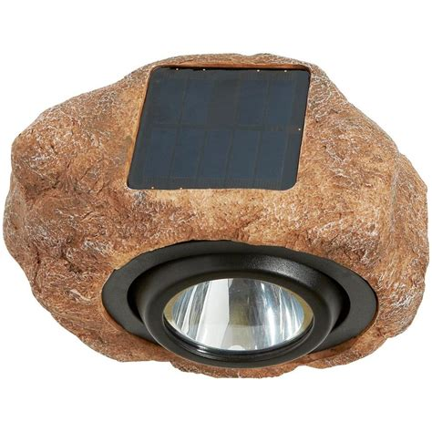 hton bay solar rock spot light nxt 3547 the home depot
