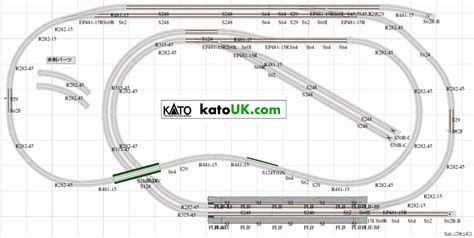 kato unitrack layout guide book kato unitrack coal mine track plan plan 03 09