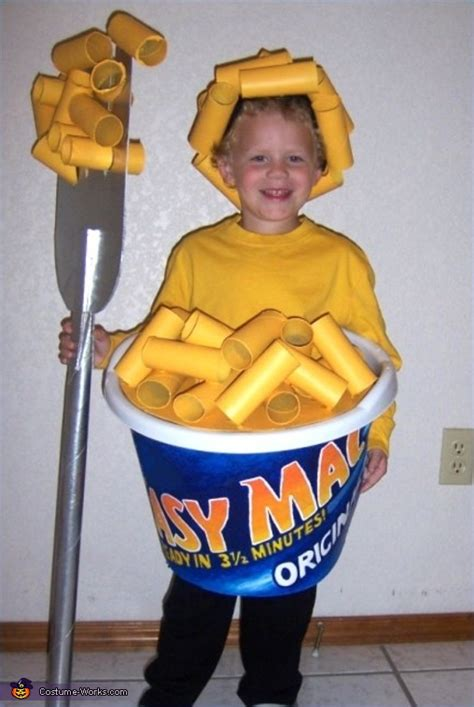 Easy Handmade Costumes - easy mac cheese costume