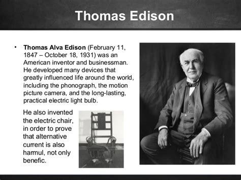 an interactive biography of thomas edison and nikola tesla famous scientists