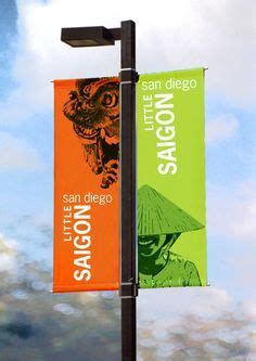 design banner sign 20 best images about signage light pole banners on