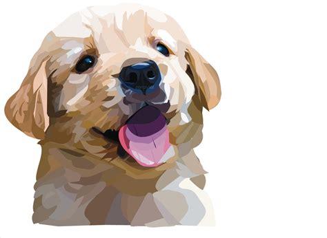 puppy vector golden retriever puppy vector by zeraviel on deviantart