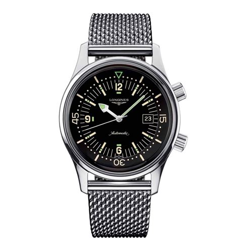 Longines Legend Diver (stainless steel)   Your Watch Hub