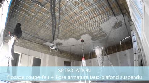 Plafond Coupe Feu 1h by Flocage Coupe Feu Installation Thermique Flocage Coupe