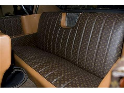 Louis Vuitton Car Upholstery by Kanye Is That You Custom Louis Vuitton Cadillac On