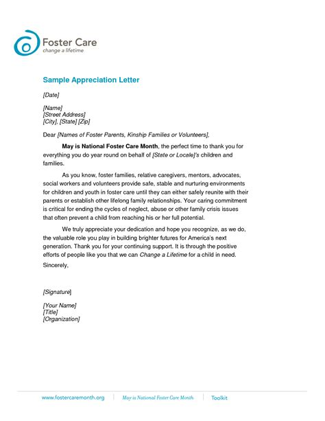 sle appreciation letter after thank you letter after didn t get 28 images sle thank