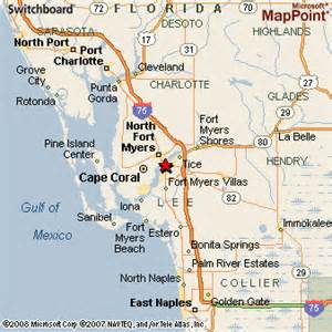 ft myers florida map fort myers florida