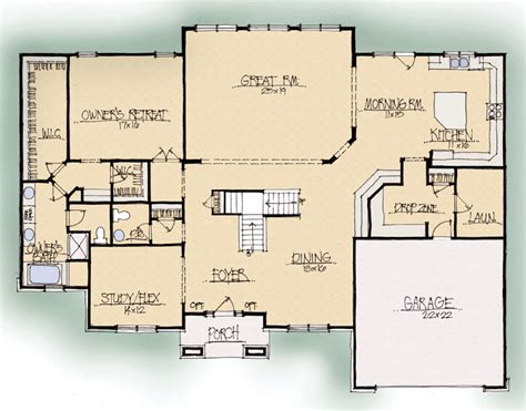 ridgewood ii a house plan schumacher homes
