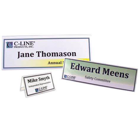 medium tent card 2 per sheet template c line large rigid plastic name tent card