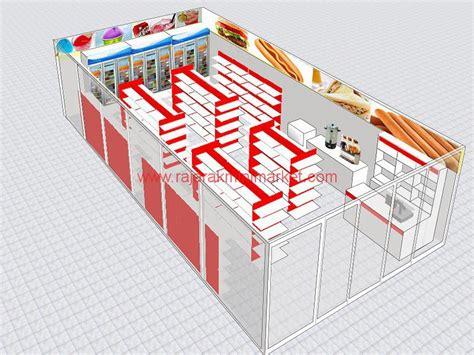 layout toko indomaret desain minimarket minimalis rajarak rak minimarket