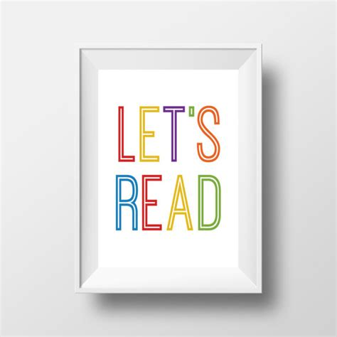 free printable playroom wall art playroom wall art let s read print playroom printable