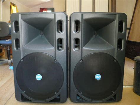 Speaker Aktif Rcf 500 rcf 500 image 272600 audiofanzine