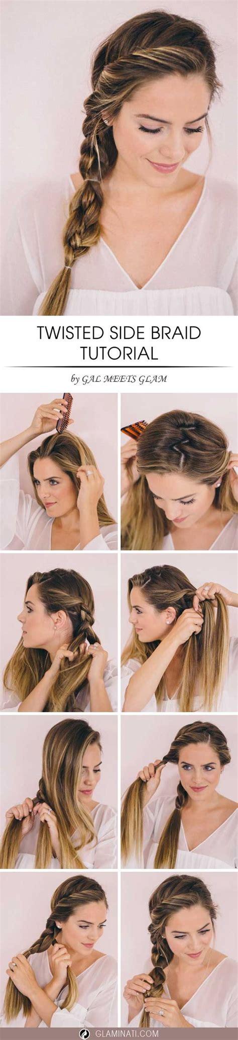tutorial mengepang rambut 23 model kepang rambut panjang dan pendek terbaik 2017