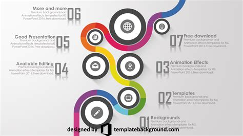 free animation templates professional powerpoint templates free 2016